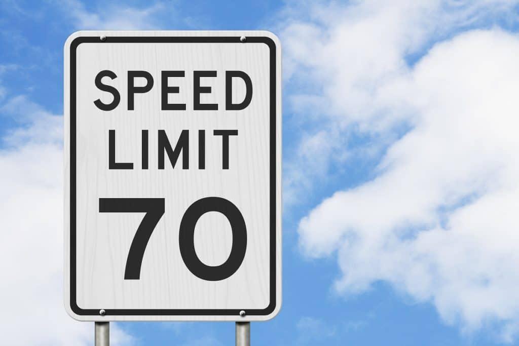 Illinois Speed Limit 70 mph