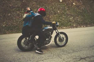 couple on motorcycle - motorcycle accident injury attorneys