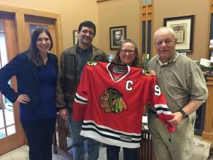 Blackhawks Jersey Giveaway - FGPG Law