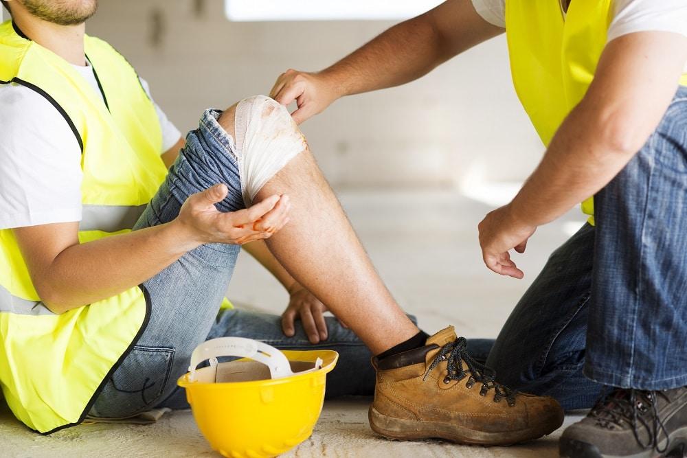 personal injury claim - injured at work