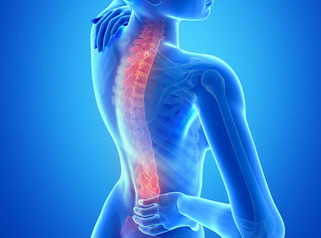 damages for pre existing conditions - back injury
