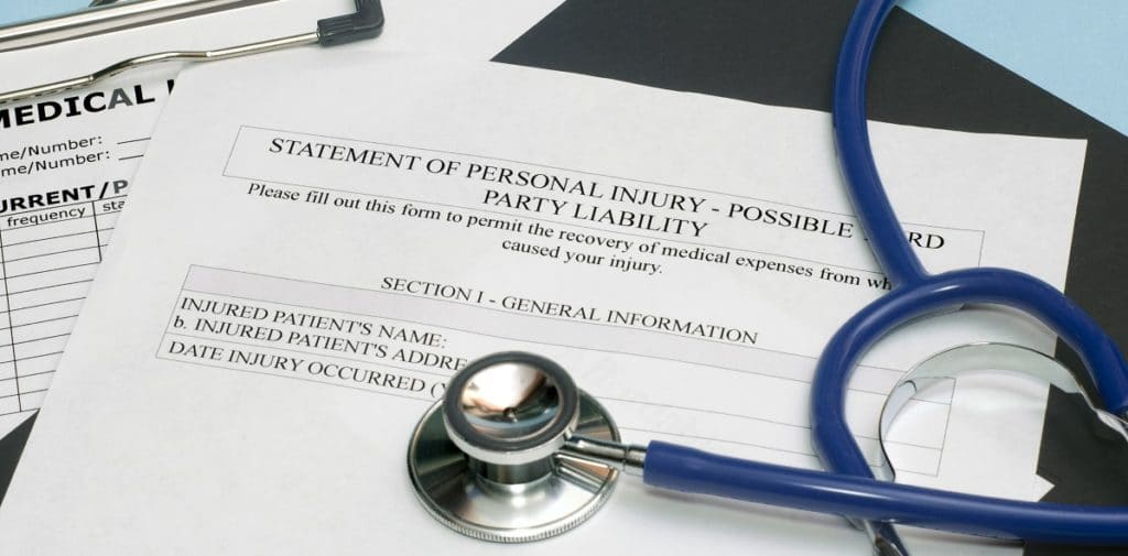 no insurance personal injury lien