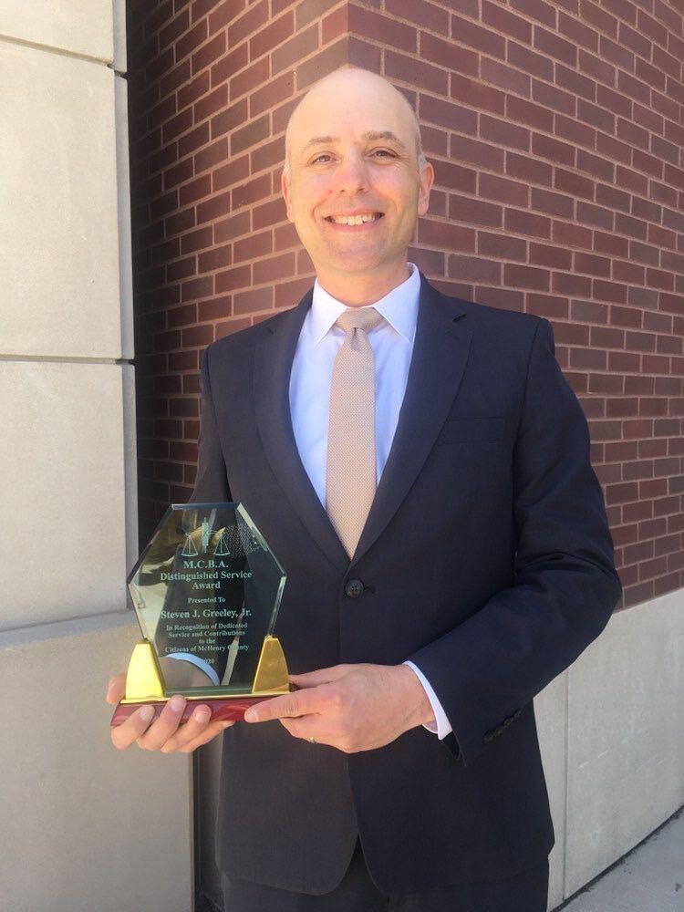 Steve Greeley Distinguished Service Award - FGPG Law